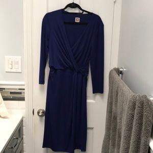 Anne Klein blue dress